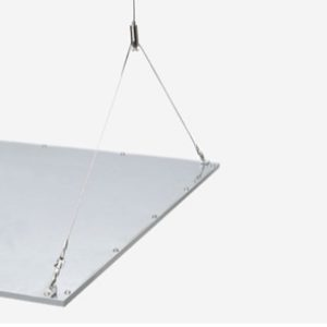 ARON LIGHT SUSPENSION PANEL LED 60X60 Distributeur exclusif France ARONLIGHT