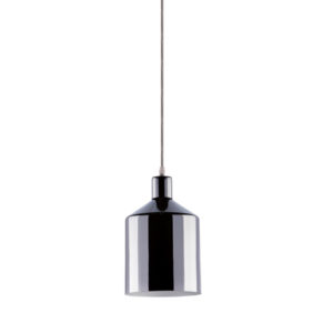 VTAC SKU 3705 PENDANT LIGHT HOLDER(BOTTLE)-CHROME SUSPENSION CHROMÉ V-TAC SKU3705