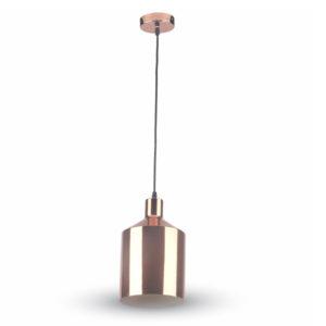 VTAC SKU 3706 PENDANT LIGHT HOLDER(BOTTLE)-COPPER SUSPENSION CUIVRE V-TAC SKU3706
