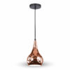 VTAC SKU3708 PENDANT LIGHT HOLDER-GOLD ROSEE SUSPENSION OR ROSE V-TAC SKU 3708