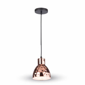 VTAC SKU3713 PENDANT LIGHT HOLDER-COPPER SUSPENSION CUIVREE V-TAC SKU 3713