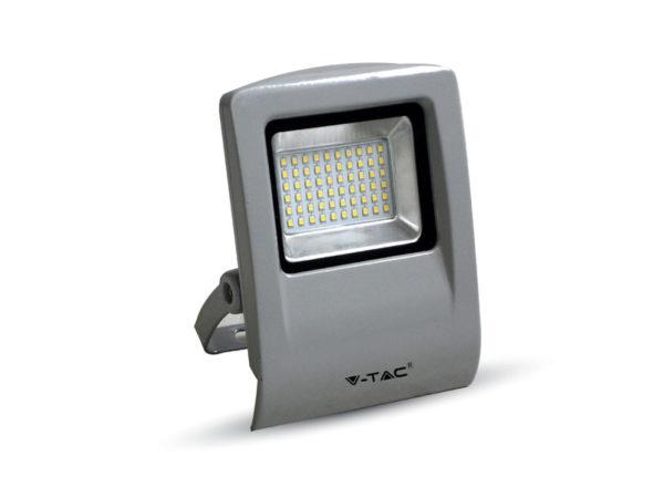 VTAC SKU-5662 Projecteur LED IP65 30W 4500K 2400LM GRIS FLOODLIGHT IP 65 30 W 4500 K 2400 LUMENS GREY V-TAC SKU5662