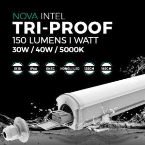 INTEL Réglette étanche tri-proof triproof toeless tool-less IP 66 IP66 IK10 IK 10 ILAR00957 ILAR00958 ILAR-00957 ILAR-00958 30 W 40 W 30W 40W